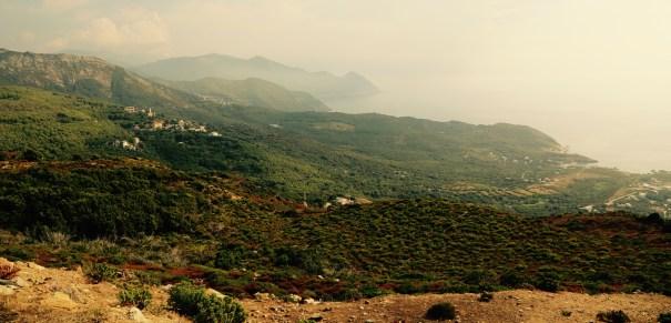 Cap Corse view