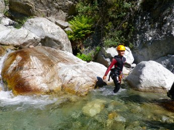 Canyoning in Corsica