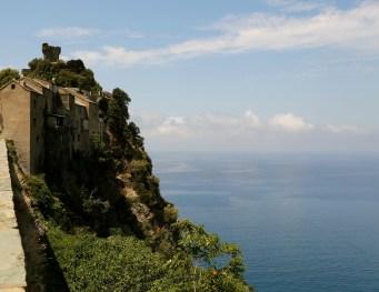 Nonza cliff