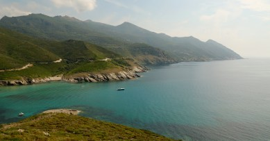 Plage de Mute Cap Corse
