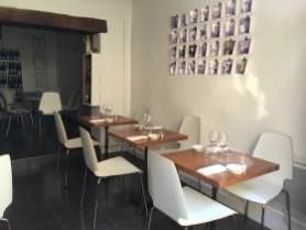 Cinq restaurant Tourrettes-sur-Loup dining room