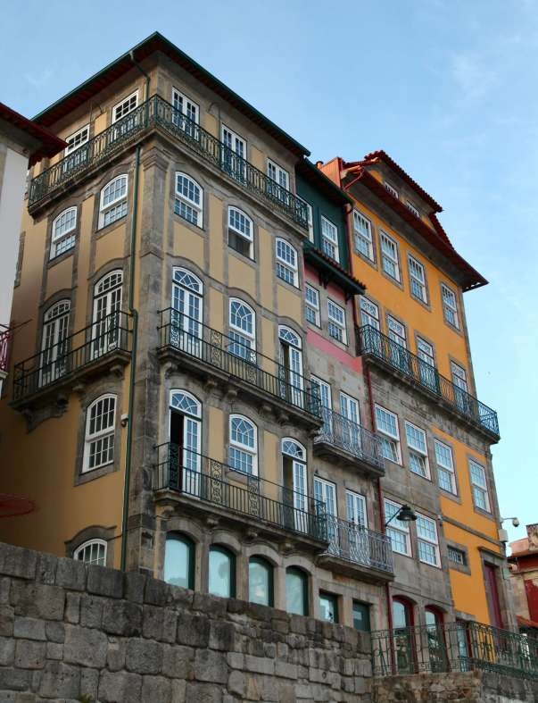 Pestana Vintage Porto building