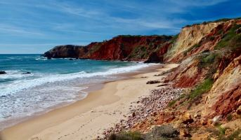 Praia do Amado endless colors