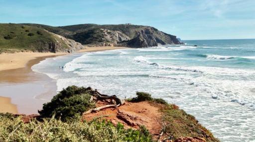Praia do Amado view