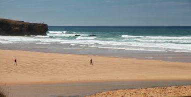 Praia Amoreira walker