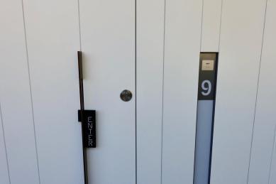 Mas Lazuli room door