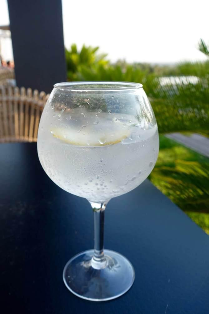 Hotel Mas Lazuli gin-tonic