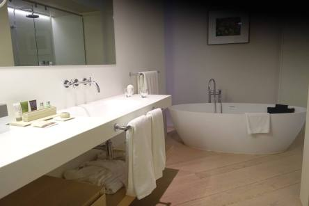 The Mercer Barcelona bathroom sink