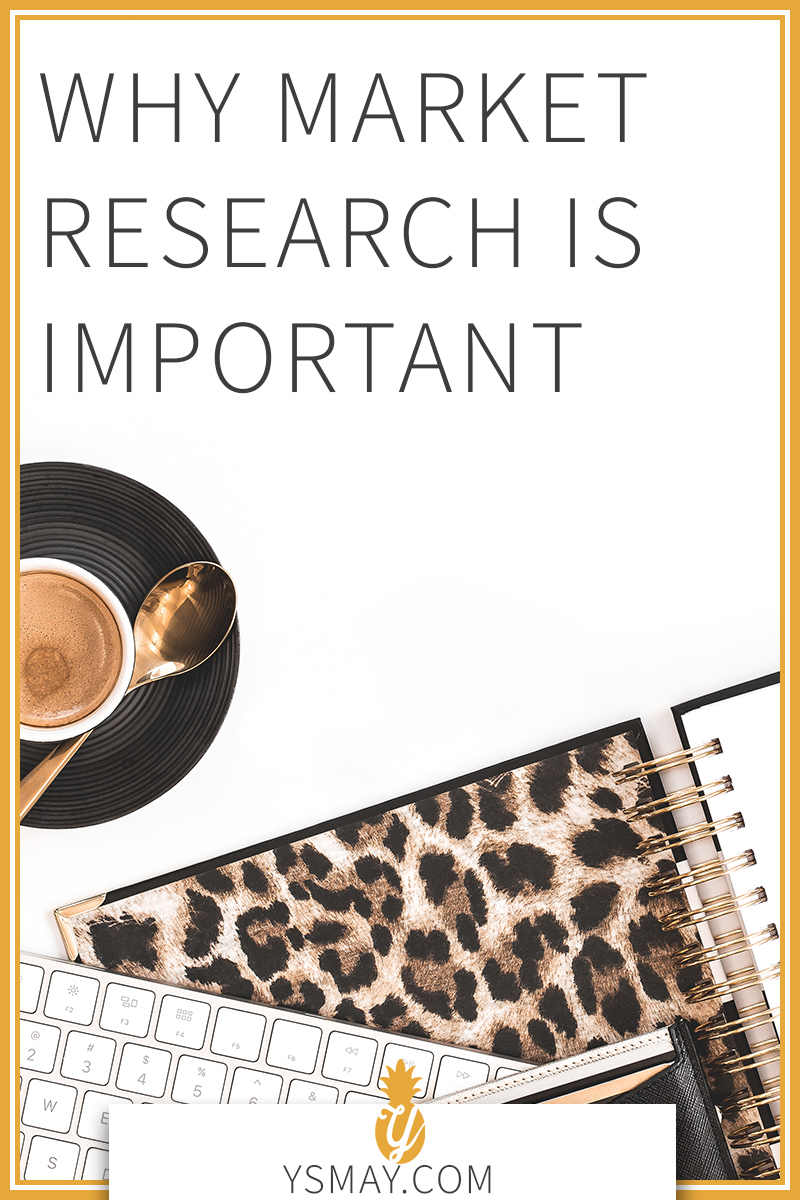 Pin for later! Why Market Research is Important