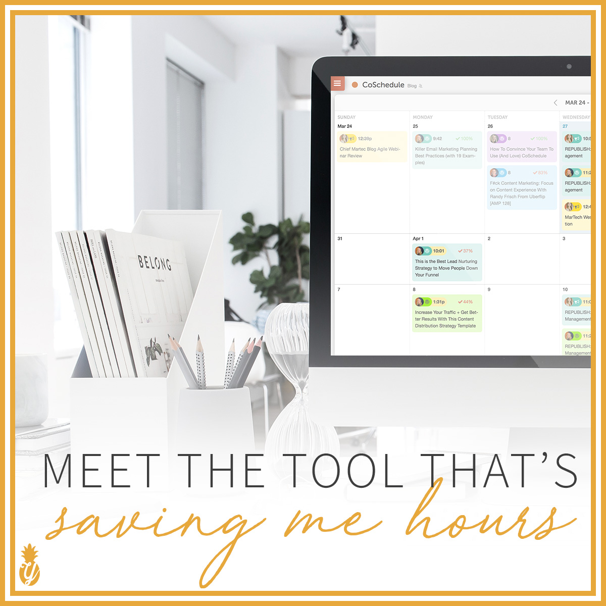 CoSchedule Review: Meet the tool that's saving me HOURS