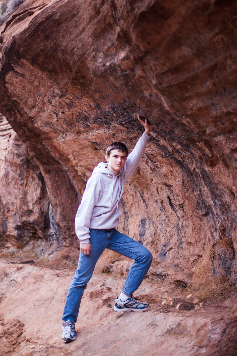 Hiking the Canyon Overlook Trail, Zion National Park, UT #vezzaniphotography