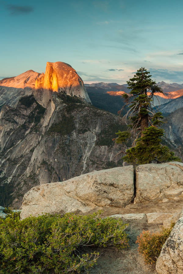 Sunset at Glacier Point - Best Photo Spots Yosemite National Park #vezzaniphotography