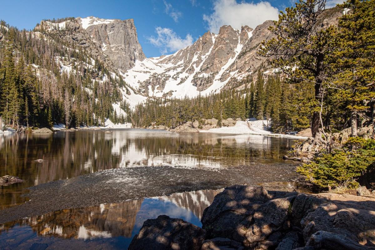 Dream Lake, Rocky Mountain National Park, Colorado #vezzaniphotography