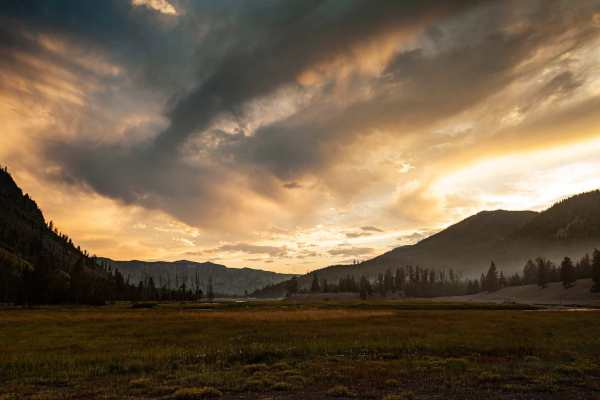 Yellowstone National Park Screensaver and Desktop Images Madison Campground