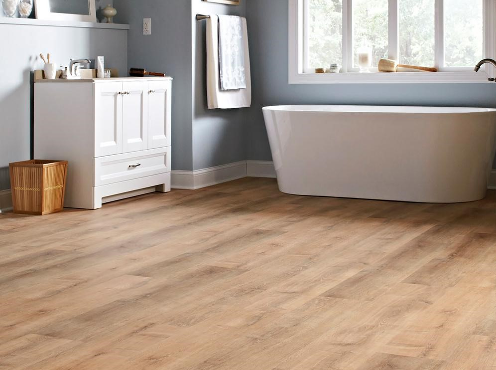 can you install vinyl flooring over