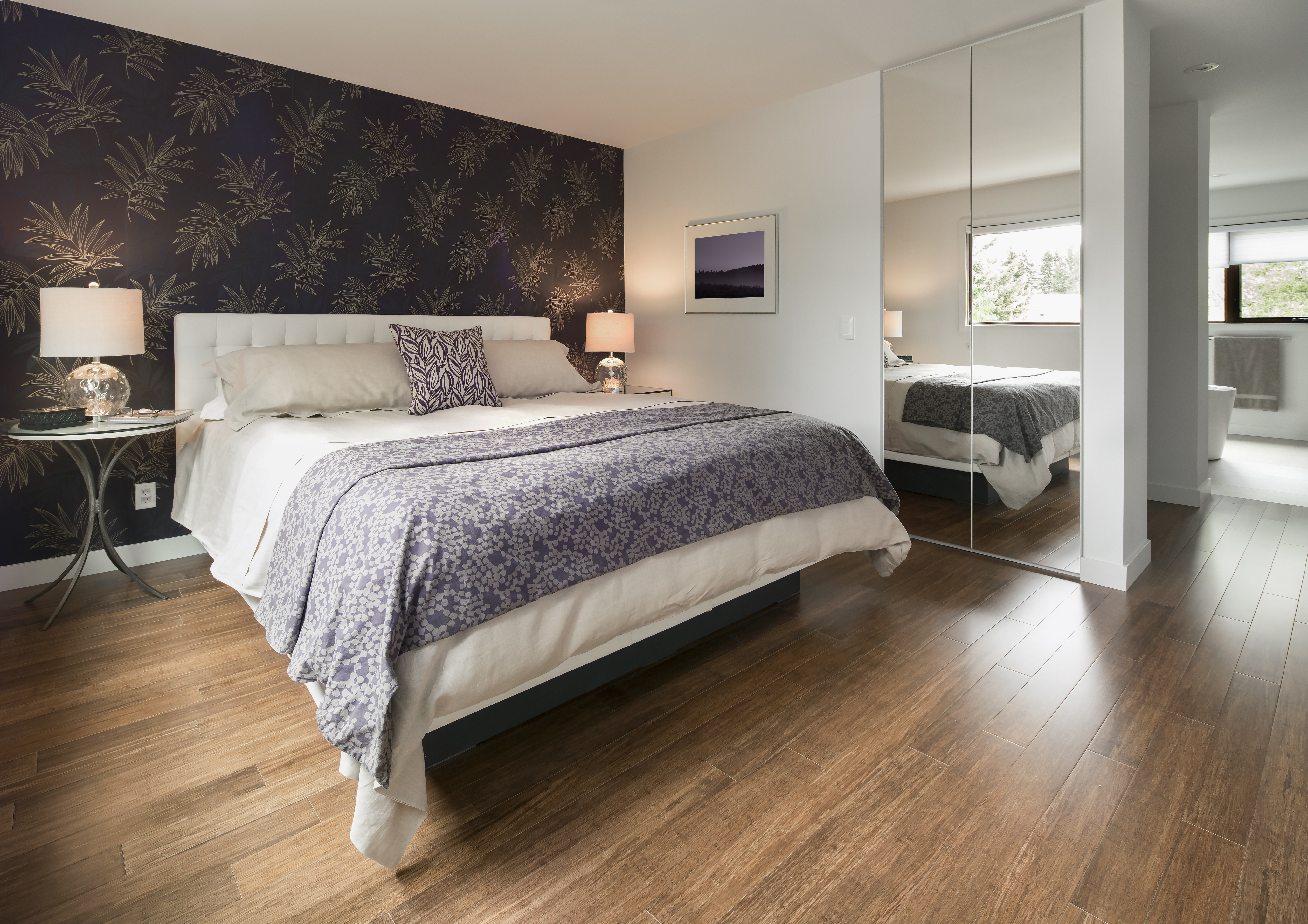 How To Match Wood Tones To Wall Colors