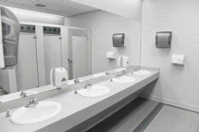 A public bathroom