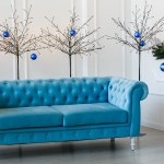 How To Design Around A Blue Couch