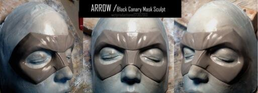 black canary domino mask