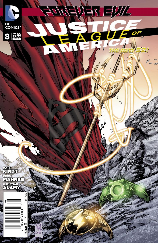 JLA 8 Cover