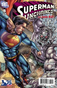 superman unchained 5 cover variant 9