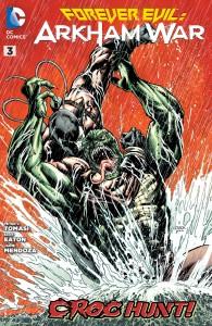 Forever Evil: Arkham War #3 cover by Jason Fabok