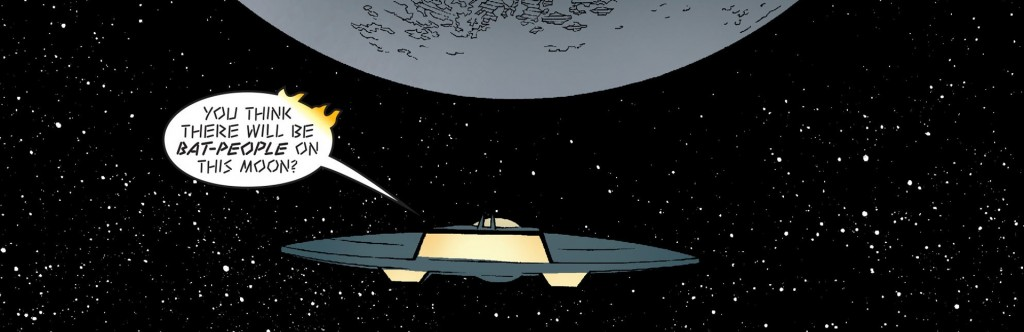 Onward, to the Secret Moonbase!