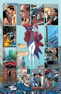 ASTRO CITY #13 - a montage of romantic couples.