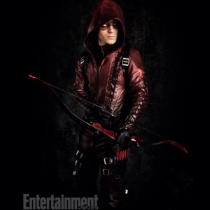 Colton Haynes as Roy Harper in his Arsenal outfit for season 3 of Arrow
