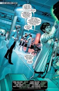 Secret Origins 5 - Cyborg - Victor and his father argue
