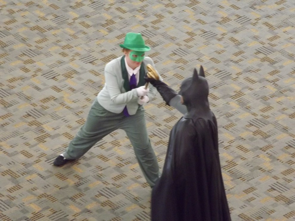 Riddler vs Batman