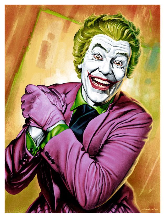 Batman '66 Joker by Jason Edmiston
