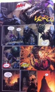 Batman Eternal 32 saving steph