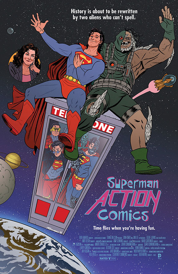 Action Comics/Bill and Ted's Excellent Adventure