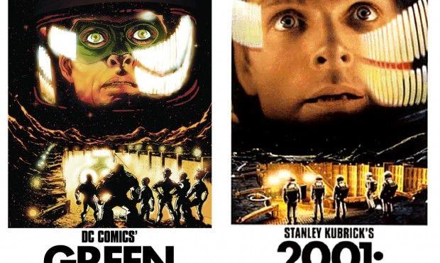 Green Lantern/2001: A Space Odyssey