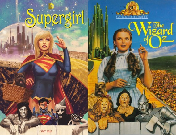 Supergirl/Wizard of Oz