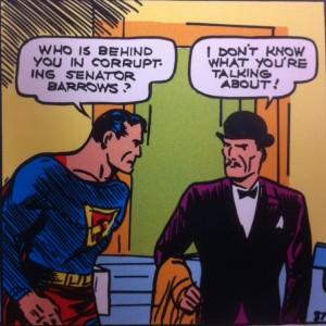 Man or Superman Superman 1 corruption