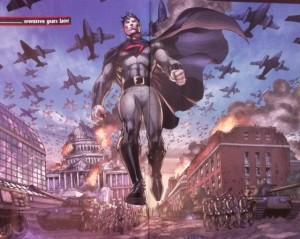 Man or Superman Overman as Dr Manhattan