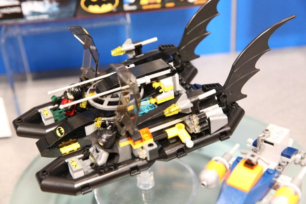 Lego #76034 Batboat Harbor Pursuit