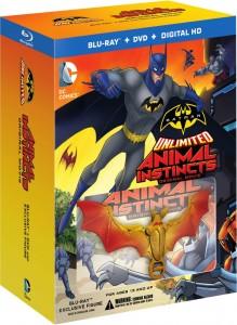 Batman Unlimited bluray case