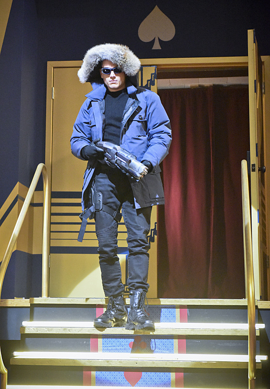 """The Flash -- """"Rogue Time""""-- Image FLA116B_0017bc -- Pictured: Wentworth Miller as Leonard Snart/Captain Cold -- Photo: Dean Buscher/The CW -- © 2015 The CW Network, LLC. All rights reserved."""
