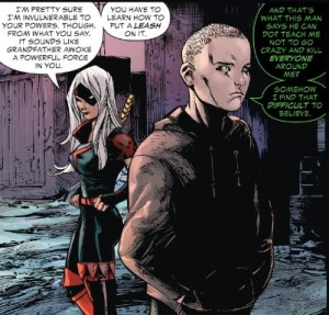 Deathstroke 5 Rose and Jericho