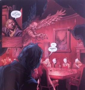 Batman Eternal 52 Arthur and the Court