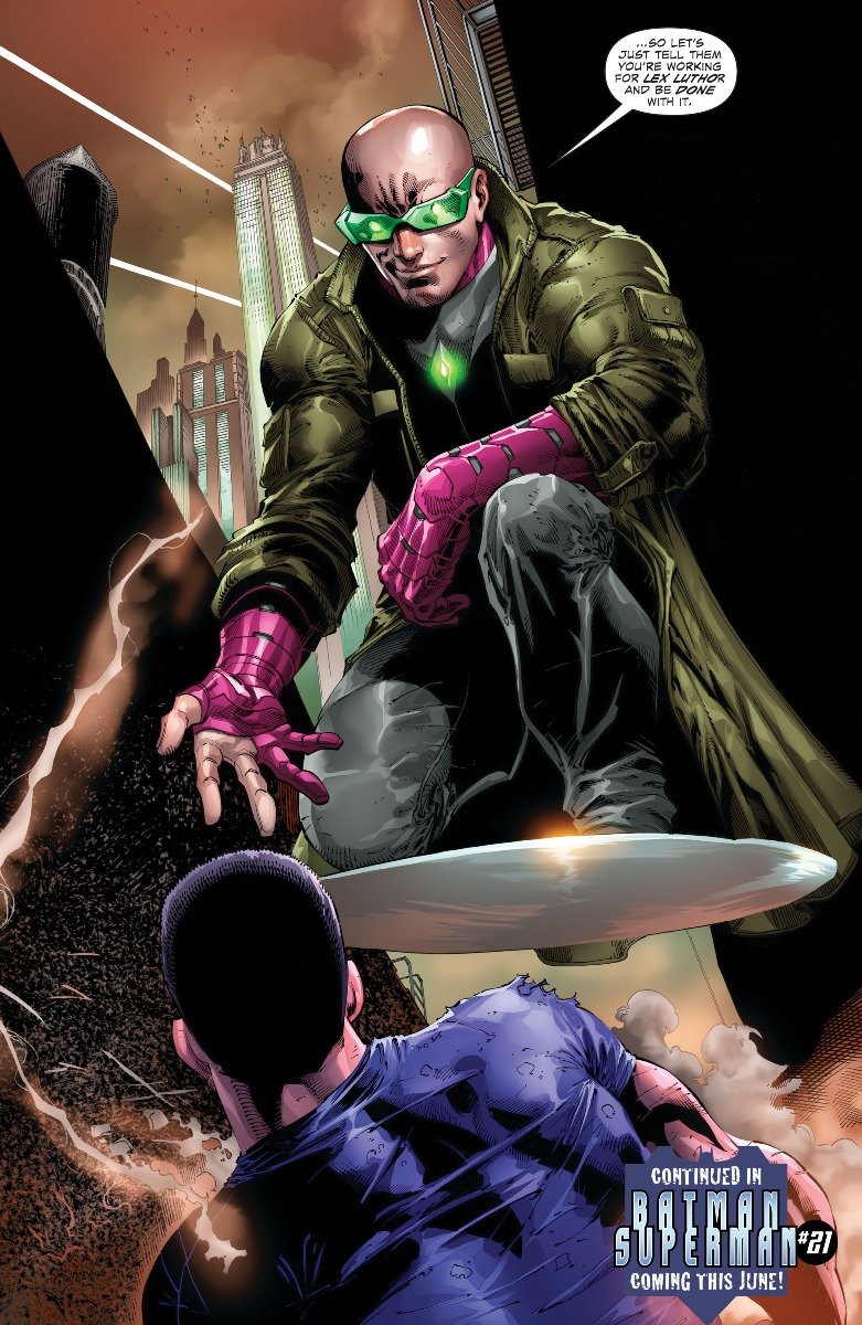 Post Divergence Lex Luthor