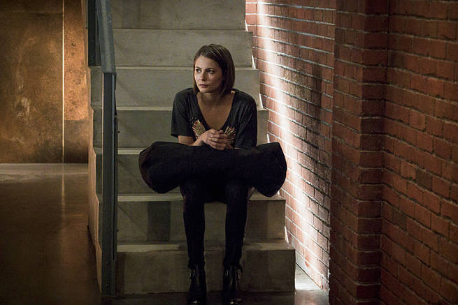 """Arrow -- """"My Name is Oliver Queen"""" -- Image AR323B_0395b -- Pictured: Willa Holland as Thea Queen -- Photo: Liane Hentscher/The CW -- © 2015 The CW Network, LLC. All Rights Reserved."""