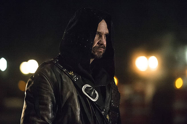 """Arrow -- """"My Name is Oliver Queen"""" -- Image AR323C_0121b -- Pictured: Matt Nable as Ra's al Ghul -- Photo: Cate Cameron/The CW -- © 2015 The CW Network, LLC. All Rights Reserved."""