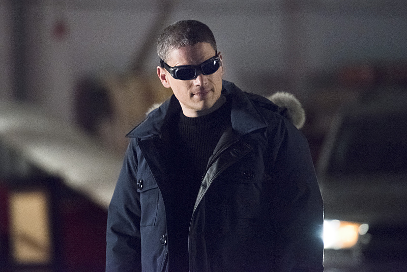 """The Flash -- """"Rogue Air"""" -- Image FLA122A_0051b -- Pictured: Wentworth Miller as Leonard Snart / Captain Cold -- Photo: Dean Buscher/The CW -- © 2015 The CW Network, LLC. All rights reserved."""