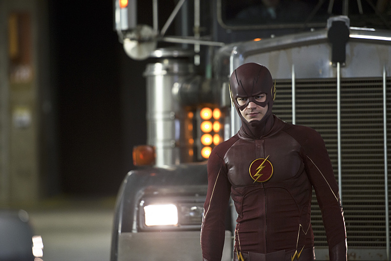 """The Flash -- """"Rogue Air"""" -- Image FLA122B_0016b-- Pictured: Grant Gustin as Barry Allen / The Flash -- Photo: Diyah Pera/The CW -- © 2015 The CW Network, LLC. All rights reserved."""