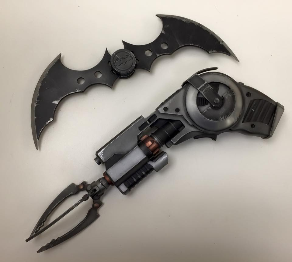 Weapons to fight crime