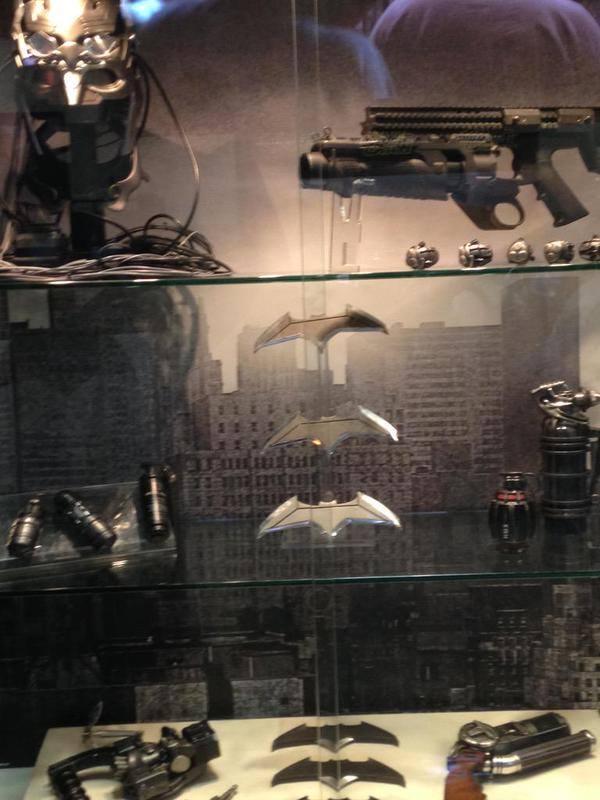 The Bat Gadgets. Photo courtesy of Superman VS Batman FB Fan Page